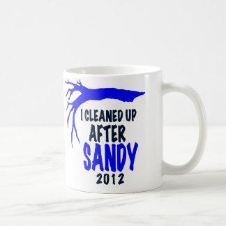 I CLEANED UP AFTER SANDY 2012 COFFEE MUG