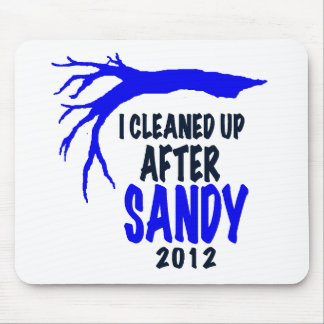 I CLEANED UP AFTER SANDY 2012 MOUSEPAD