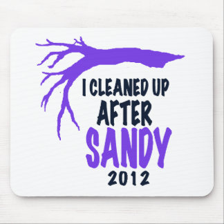 I CLEANED UP AFTER SANDY 2012 MOUSEPADS