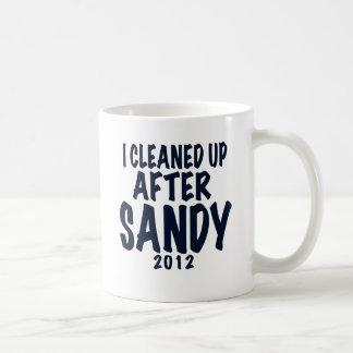 I Cleaned Up After Sandy, Hurricane Sandy gifts Coffee Mug
