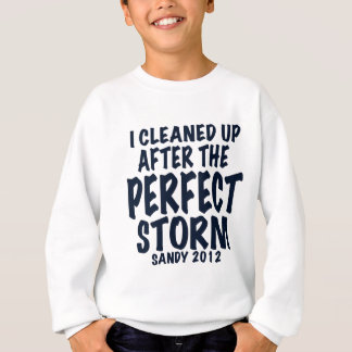 I Cleaned Up After the Perfect Storm, Sandy 2012, Sweatshirt