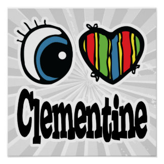 I clementina del corazón (amor) poster