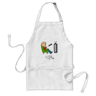 I Click TV Addict T-shirts and Gifts Adult Apron