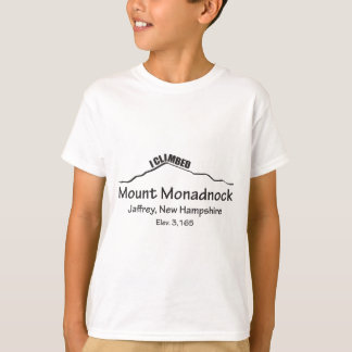 I Climbed Mount Monadnock T-Shirt