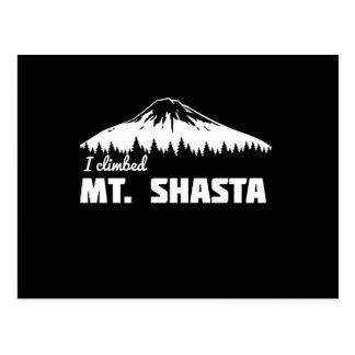 I Climbed Mt. Shasta Postcard