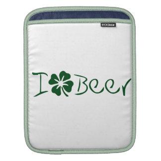I Clover Beer iPad Sleeves