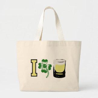 I Clover Beer Irish Tote Bag