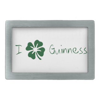 I Clover Guinness Belt Buckle