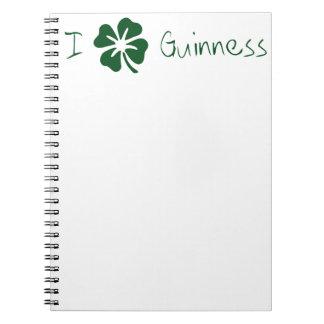 I Clover Guinness Notebook