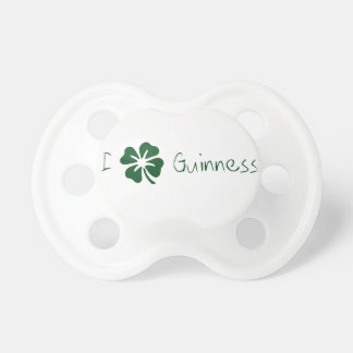 I Clover Guinness Pacifier