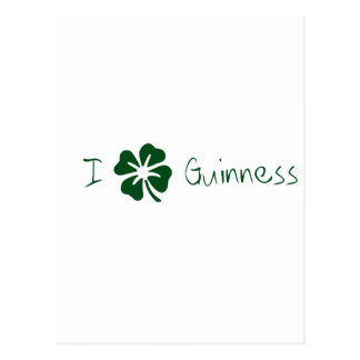 I Clover Guinness Postcards