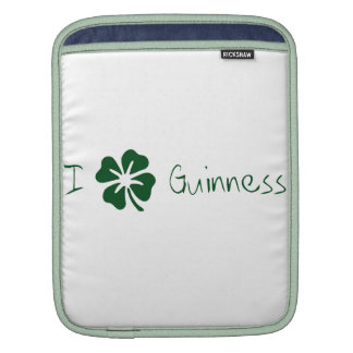 I Clover Guinness Sleeves For iPads