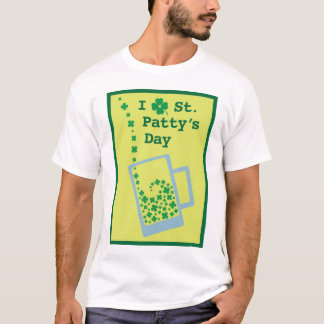 I Clover St. Patty's Day T-Shirt