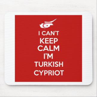 I Cnt guarda al chipriota turco de la calma Im Alfombrilla De Ratón