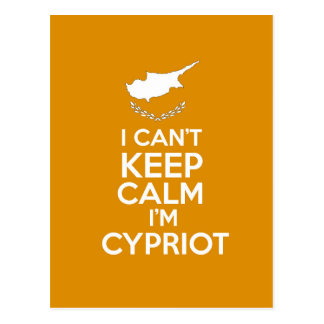 I Cnt Keep Calm Im Cypriot Postcard