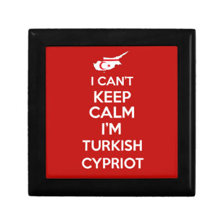 I Cnt Keep Calm Im Turkish Cypriot Gift Box