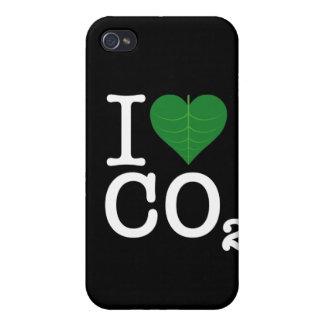 I CO2 del corazón iPhone 4/4S Carcasa