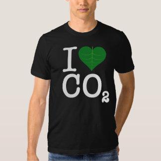 I CO2 del corazón Playera