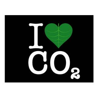 I CO2 del corazón Postales