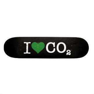 I CO2 del corazón Skateboards