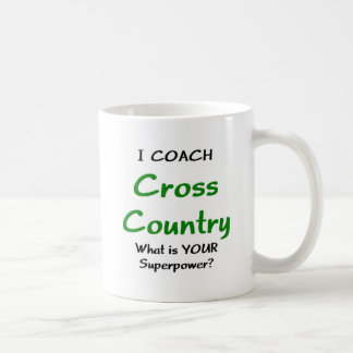 I coach cross country coffee mug