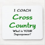 I coach cross country mouse pad
