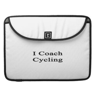 I Coach Cycling MacBook Pro Sleeves