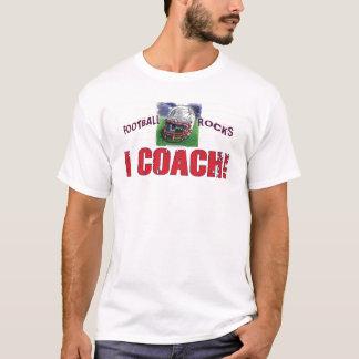 I Coach! Helmet Football T-Shirt