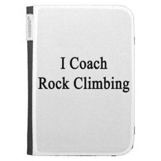 I Coach Rock Climbing Kindle Keyboard Case