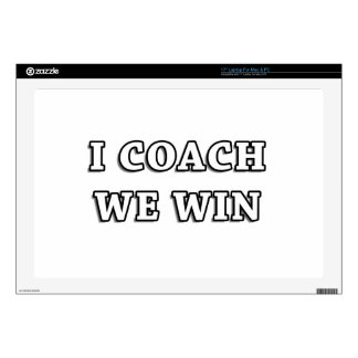 I COACH WE WIN Items & Gifts... Skins For Laptops
