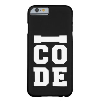 I CODE Developer Barely There iPhone 6 Case