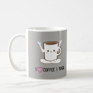 I ❤ Coffee and Yoga Coffee Mug