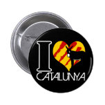 I Coil Catalunya Pinback Buttons