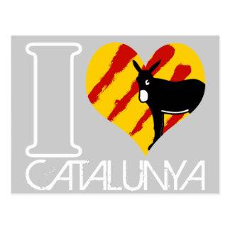 I Coil Catalunya Postcard