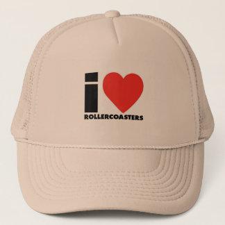 I Coil Roller Coaster Trucker Hat