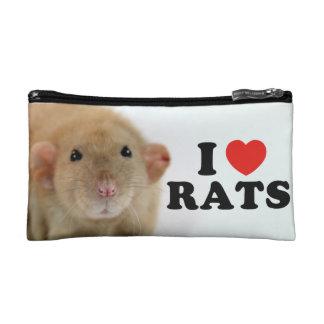 I coils (burmese) Rats Makeup Bag