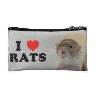 I coils (dove) Rats Cosmetic Bag