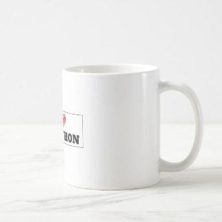 I coils pig coffee mug