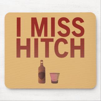 I cojín de ratón de Srta. Hitch (oscuro en luz) Tapetes De Ratón