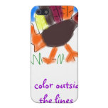 I Color Outside the Lines Iphone 4 Case