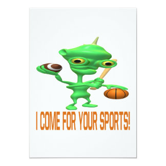 I Come For Your Sports Card