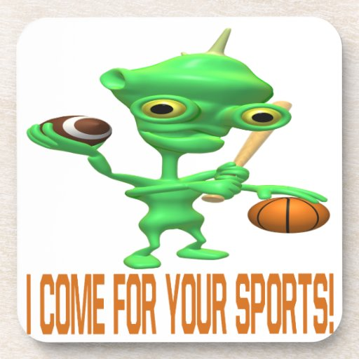 I Come For Your Sports Coaster