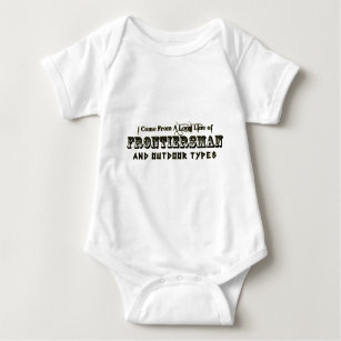 I Come From A Long Line of Frontiersman Baby Bodysuit
