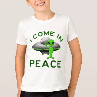 I COME IN PEACE - ALIEN T-Shirt