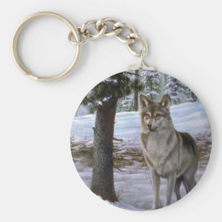 I come in peace, Wolf Keychains