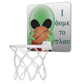 I come to play mini basketball hoops