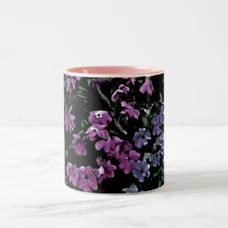 I Come to the Garden Alone Floral Two-Tone Coffee Mug