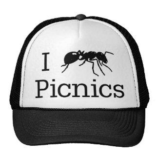 I comidas campestres de la hormiga gorros