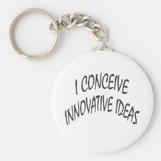 I Conceive Innovative Ideas Key Chain
