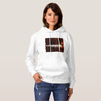 I Conquer My Challenges Hoodie